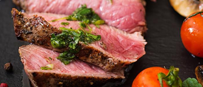 Le bœuf et la cuisine de plein air